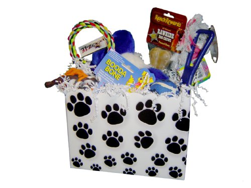 Large Dog Gift Basket Box