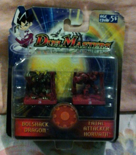 Duel Masters Bolshak Dragon and Fatal Attacker Horvath - 1