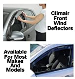 Front Wind Deflectors Nissan Versa 5 Door 6/2006 On