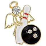 Wings and Wishes Angel Tac Pin, Bowling Angel