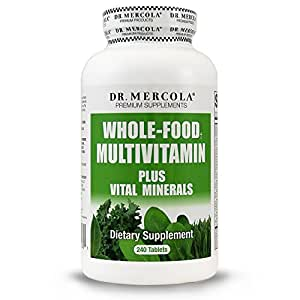 Dr Mercola Whole Food Multivitamin Plus Vital Minerals
