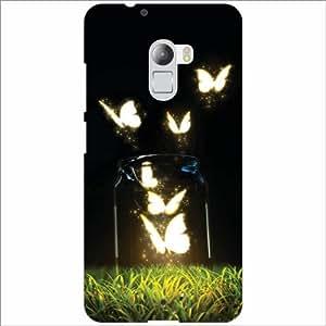 Lenovo K4 Note Back Cover - Butterflies Designer Cases