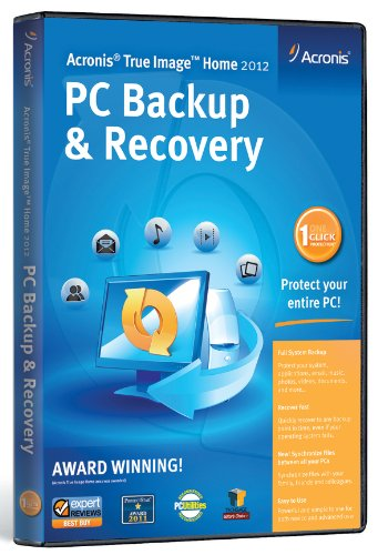 True Image Home 2012 PC Backup and Recovery [Old Version]