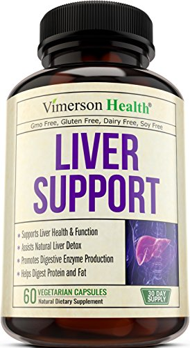 Liver Support Supplement to Cleanse & Detox - Natural Non-Gmo Herbal Blend with Milk Thistle + Artichoke Extract + Turmeric + Ginger + Beet Root + Alfalfa + Zinc + Choline and More. Made in USA (Artichoke Extract Alcohol Free compare prices)