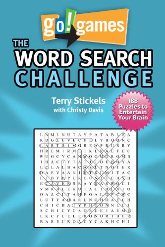 Go!Games The Word Search Challenge: 188 Entertain Your Brain Puzzles PDF