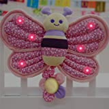 Little Bird Told Me - Billowy Butterfly Music and Lights Cot Toy