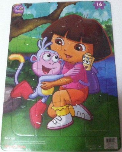 Dora Explorer Frame Puzzle 16 Piece - 1