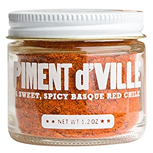 Piment d'Ville - 2015 Vintage - Red Chili Pepper Powder from California - 1.2 oz jar