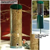 Birds Choice Classic Feeder w/ Squirrel Baffle and Pole