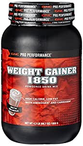 Buy GNC Weight Gainer 1850 - 4.3 lb, 1950 gm ( Powder