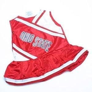 Ohio State Buckeyes Youth Cheerleader Dress by SportShack INC
