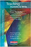 img - for Teaching Students to Write Essays That Define (Dynamics of Writing Instruction) by Peter Smagorinsky (2011-10-06) book / textbook / text book