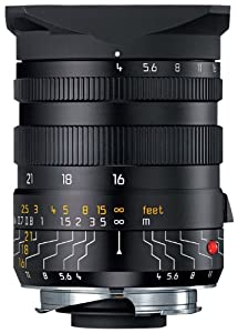 Leica 16-18-21mm f/4.0 M-Tri-Elmar 35mm Wide Angle Lens with Universal Finder (11642)