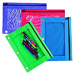 Nylon Pencil Pouch, 24 count
