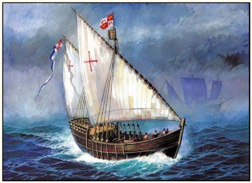 ZVESDA Z9005 Christopher Columbus Expedition Ship Nina 1:100