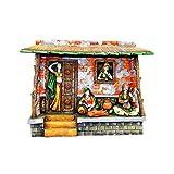 Celebration Rajasthani Artist (15 CM X 15 CM X 15 CM_s049)