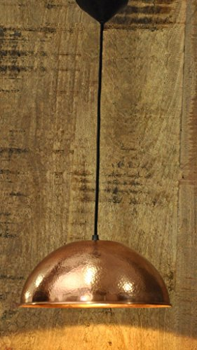 Logam Copper Plated dome Pendant Light