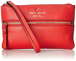 kate spade new york Cobble Hill Bee Wallet, Cherry Liqueur, One Size