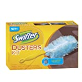 Swiffer Dusters Disposable Cleaning Dusters Unscented Starter Kit, 1 Kit (Pack of 2)