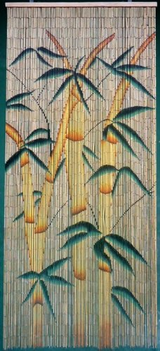 Tropical Bamboo Stalks Beaded Curtain 125 Strands