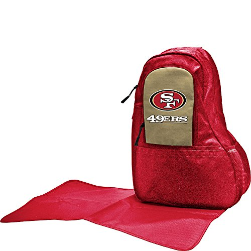 San Francisco 49ers Lil Fan Messenger Diaper Bag