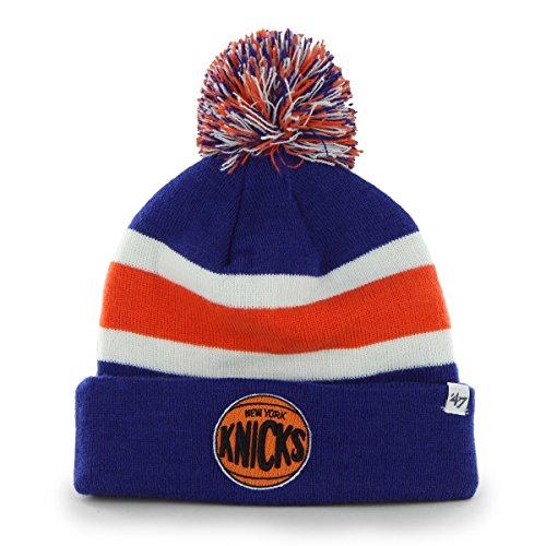 Nba New York Knicks Breakaway Cuff Knit Cap, One Size, Royal front-857855