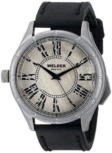Welder K21 502 - Reloj de pulsera unisex, piel, color marrón