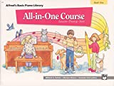 img - for All-in-One Course for Children: Lesson, Theory, Solo, Book 1 (Alfred's Basic Piano Library) book / textbook / text book