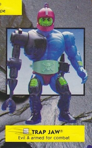 Buy Low Price Mattel Vintage 1980s Master's of the Universe Trap Jaw Action Figure MOTU 100% Complete (B0046LBFDA)