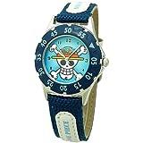 ONE PIECE (ワンピース) 腕時計 キッズ 回転ベゼル アロイダイバーウォッチ ワンピース 腕時計 キッズ 回転ベゼル OP10007 ブルー