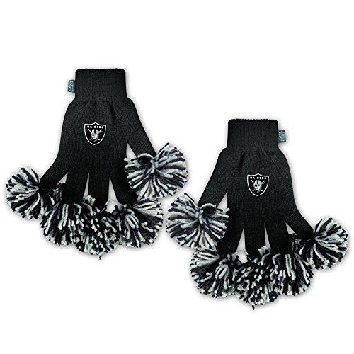 Raiders Pom Pom Gloves