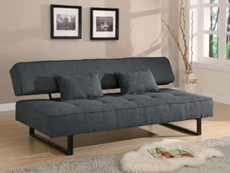 Grey Fabric Sofa Bed - Coaster 300137