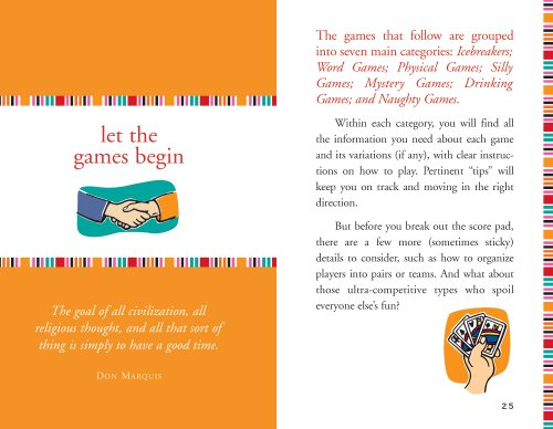 The Little Black Book of Party Games: The Essential Guide to Throwing the Best Bashes
