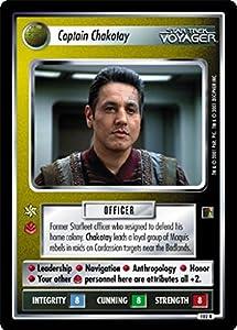 Star Trek Ccg 1e The Borg Captain Chakotay 102r+