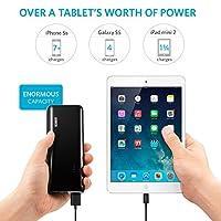 Anker® Astro E5 第2世代 16000mAh モバイルバッテリー iPhone / iPad / iPod / Xperia / Galaxy / Nexus / 3DS / PS Vita / ウォークマン他対応 【PowerIQ搭載】 (ブラック) A1208012