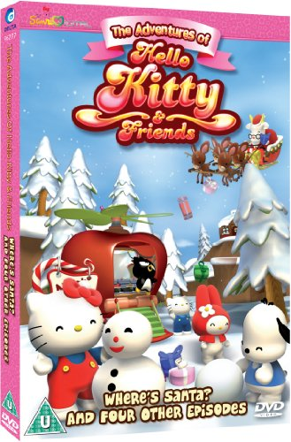 Hello Kitty, The Adventures Of - Wheres Santa? And Four Other Episodes [DVD]