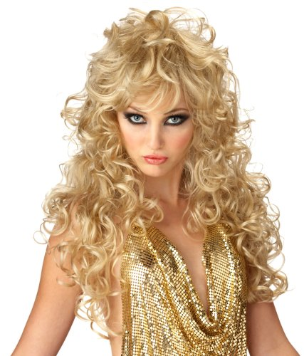 California Costume Women's Seduction Wig, Blonde, ADULT