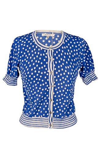 Gigue -  Cardigan  - Camicia - Donna blu 50