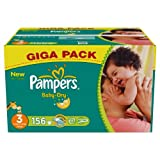Pampers Baby Dry Size 3 (Midi) Giga Pack 156 Nappies