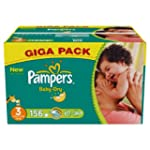 Pampers Baby Dry Size 3 (Midi) Giga P...