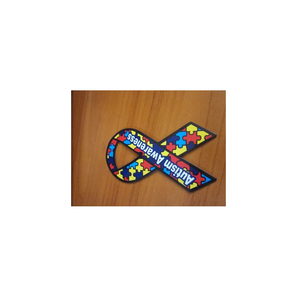 Autism Awareness Magnet Small 4 Donations to Autism Car or Refrigerator NEW