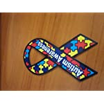Autism Awareness Magnet Small 4″ Donations to Autism Car or Refrigerator NEW