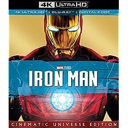 IRON MAN [4K Ultra HD + Blu-ray]