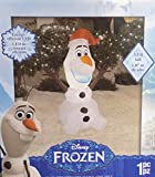 Disney Frozen Olaf Gemmy Airblown Inflatable Outdoor Christmas Figure
