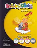 Shrinky Dinks Shrinkable Plastic - 8 x 10 inches - Set of 10 - Frosted
