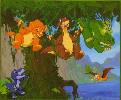 Picture of Pressman Toys Land Before Time: Dinosaurs Touch the Sky - 3D Lenticular Holographic 100 Piece Puzzle (B003OU6PDY) (3D Puzzles)