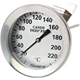 Dexam 1-Piece Stainls Steel Jam Candy and Deep Fry Thermometer with Probe