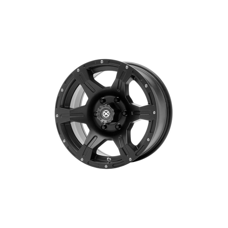 American Racing ATX Predator 17x8.5 Teflon Wheel / Rim 6x5.5 with a  6mm Offset and a 78.30 Hub Bore. Partnumber AX396578538