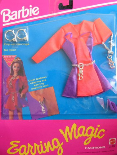 Barbie Earring Magic Fashions w Earrings 4 You (1992) - 1