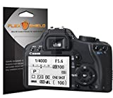 FlexShield [5-Pack] - Canon Rebel xsi Screen Protector with Lifetime Replacement Warranty - Ultra Clear Japanese PET Film - Bubble-Free HD Clarity with Anti-Fingerprint & Scratch Resistance